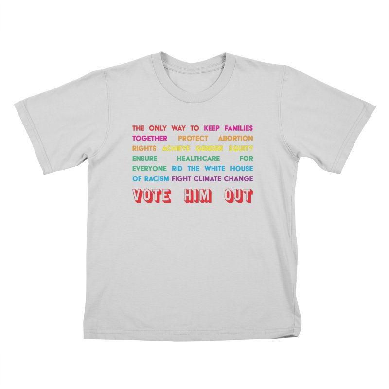 The Only Way Kids T-Shirt by Get Organized BK's Artist Shop