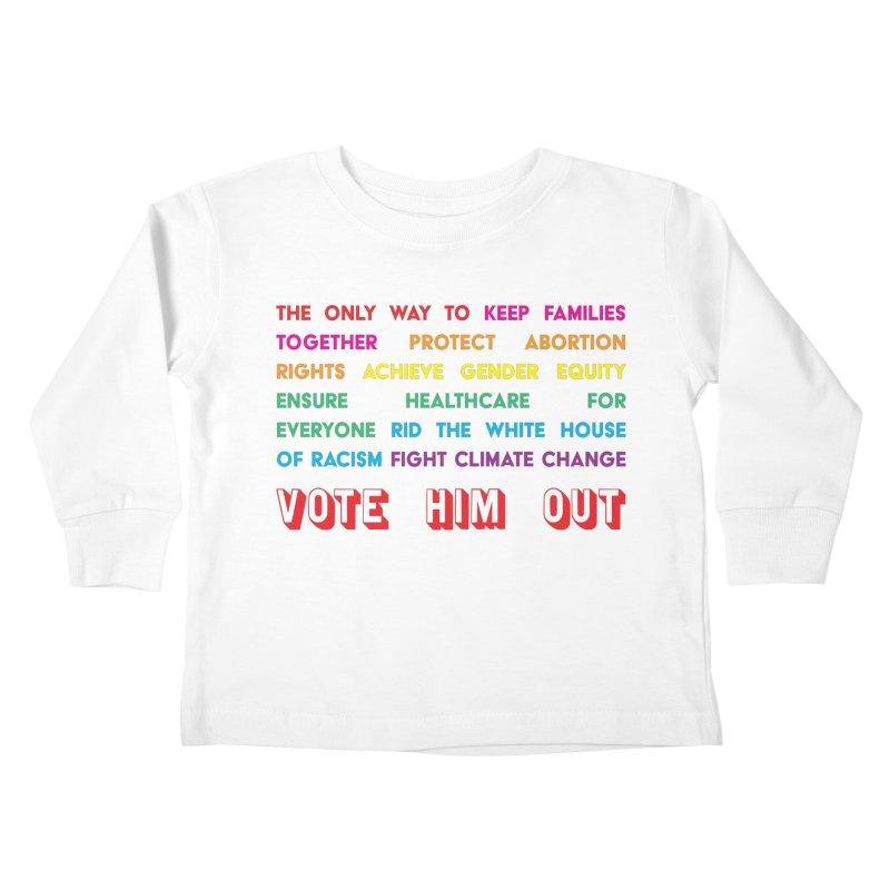 The Only Way Kids Toddler Longsleeve T-Shirt by Get Organized BK's Artist Shop