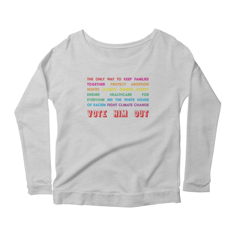The Only Way Women's Scoop Neck Longsleeve T-Shirt by Get Organized BK's Artist Shop
