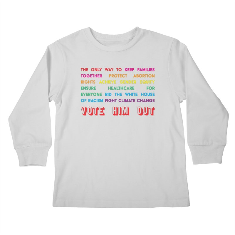 The Only Way Kids Longsleeve T-Shirt by Get Organized BK's Artist Shop