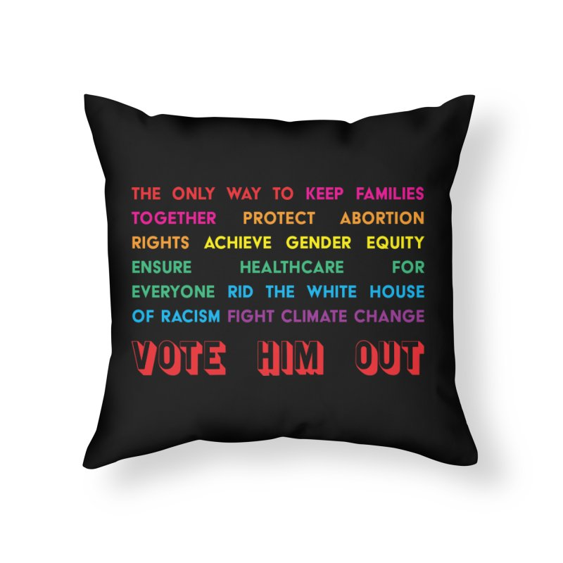 The Only Way Home Throw Pillow by Get Organized BK's Artist Shop