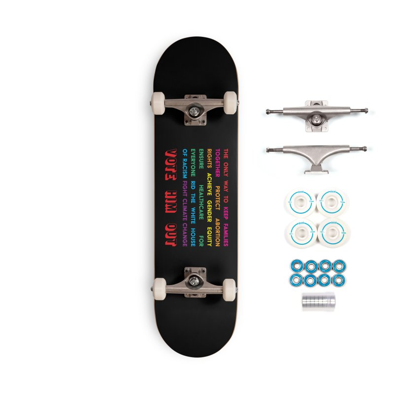 The Only Way Accessories Complete - Basic Skateboard by Get Organized BK's Artist Shop