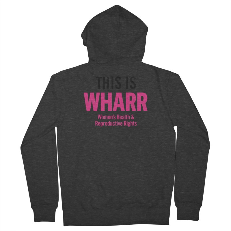 This is WHARR Declaration White Men's French Terry Zip-Up Hoody by getorganizedBK's Artist Shop