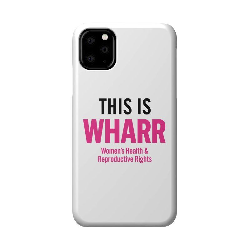 This is WHARR Declaration White Accessories Phone Case by Get Organized BK's Artist Shop