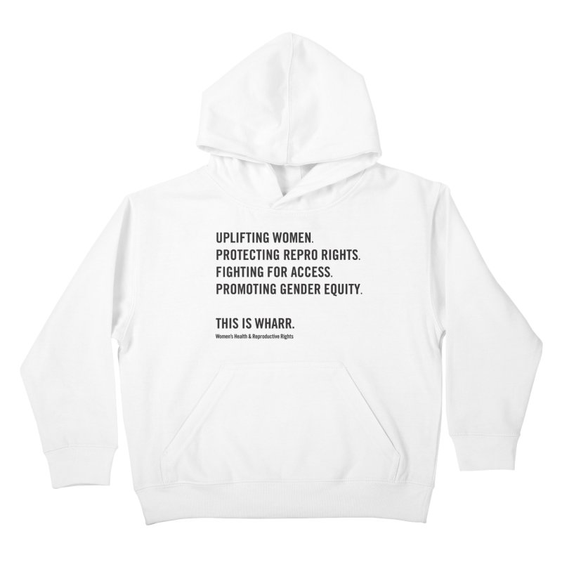 WHARR Mission Kids Pullover Hoody by Get Organized BK's Artist Shop