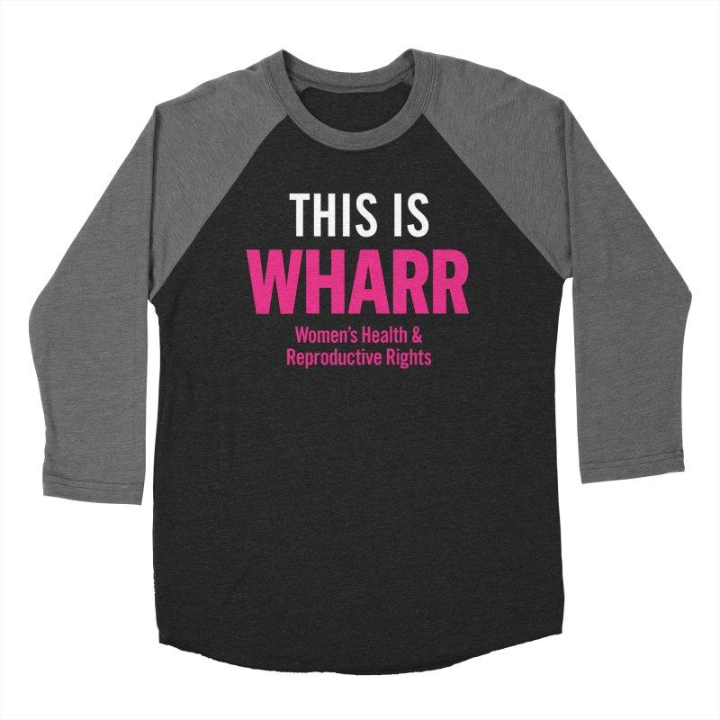 This is WHARR Declaration Men's Baseball Triblend Longsleeve T-Shirt by Get Organized BK's Artist Shop