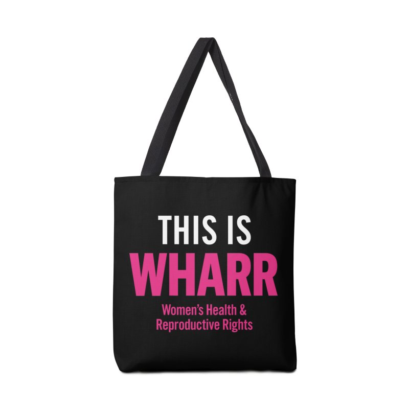 This is WHARR Declaration Accessories Bag by Get Organized BK's Artist Shop