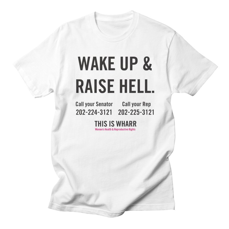 Raise Hell Men's Regular T-Shirt by Get Organized BK's Artist Shop