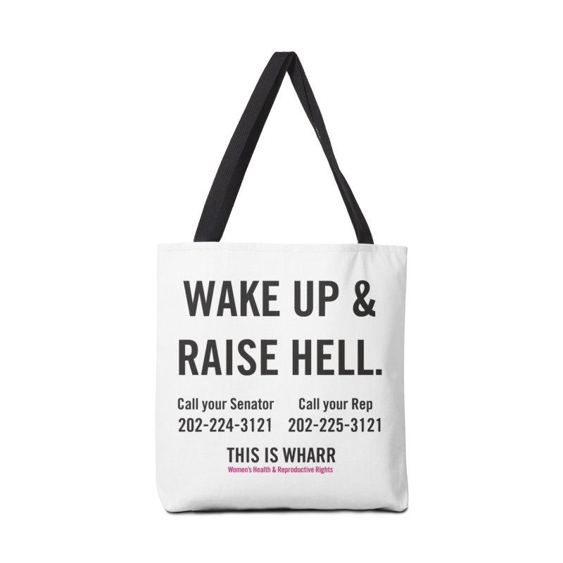 Raise Hell Accessories Bag by getorganizedBK's Artist Shop