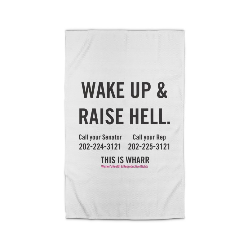 Raise Hell Home Rug by Get Organized BK's Artist Shop
