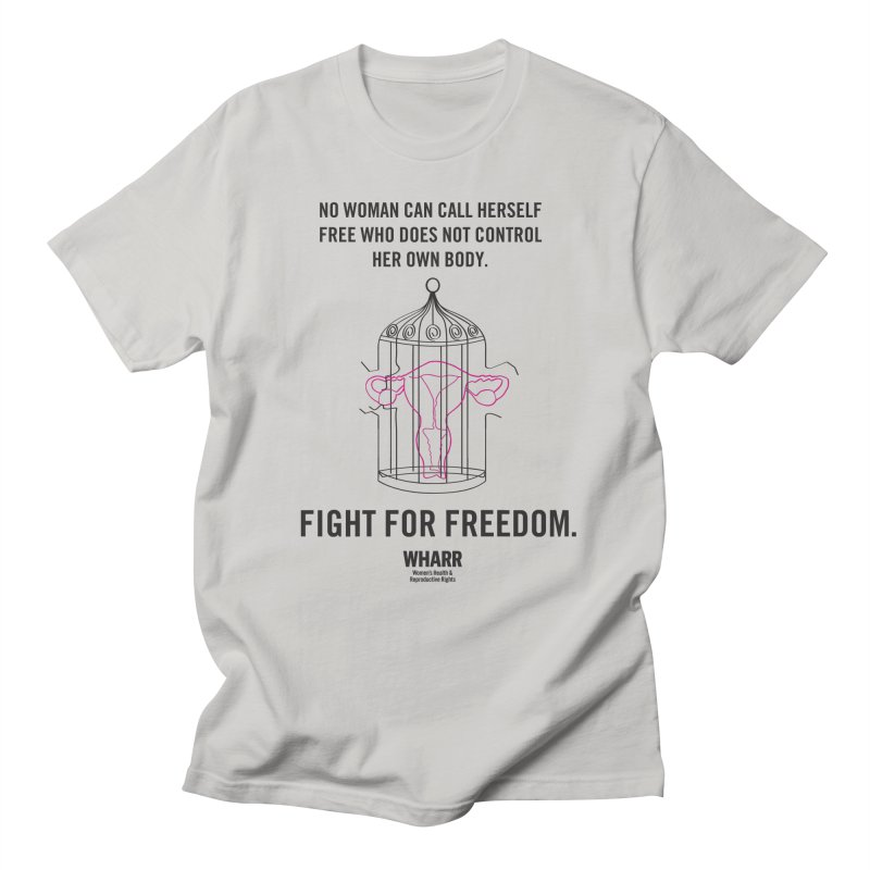 FREEDOM Men's Regular T-Shirt by Get Organized BK's Artist Shop