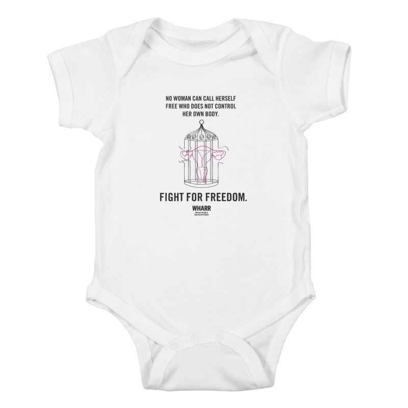 FREEDOM Kids Baby Bodysuit by Get Organized BK's Artist Shop