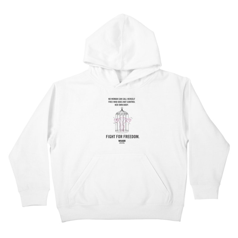 FREEDOM Kids Pullover Hoody by Get Organized BK's Artist Shop