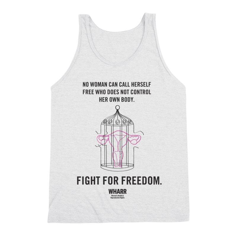FREEDOM Men's Triblend Tank by Get Organized BK's Artist Shop
