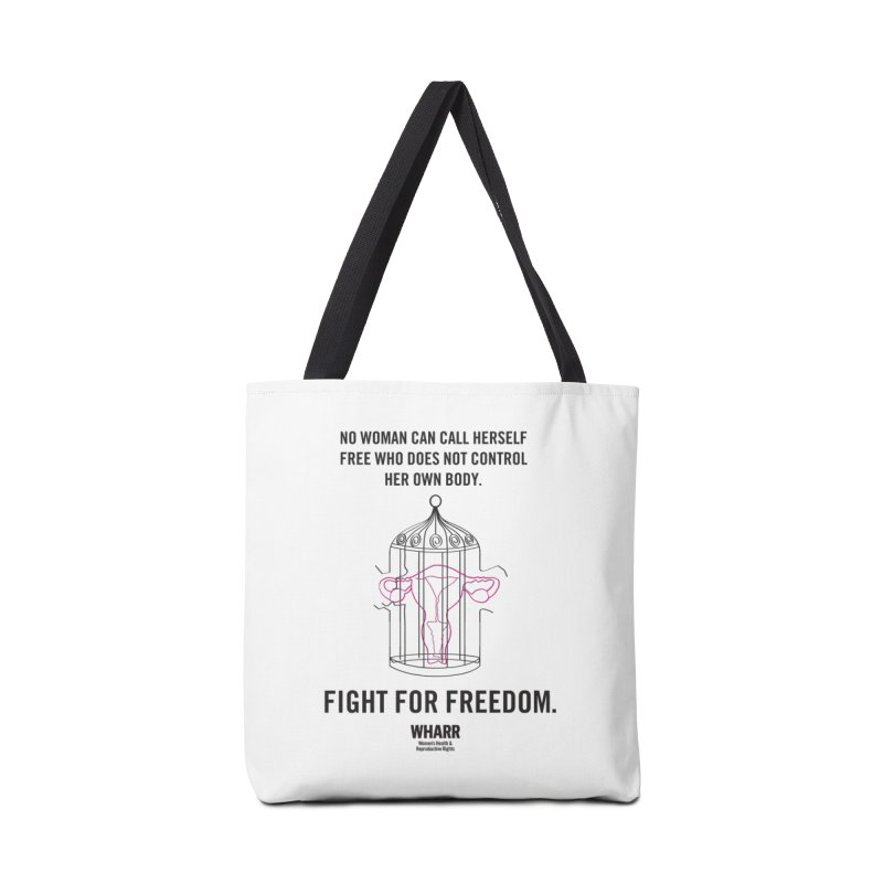 FREEDOM Accessories Tote Bag Bag by Get Organized BK's Artist Shop