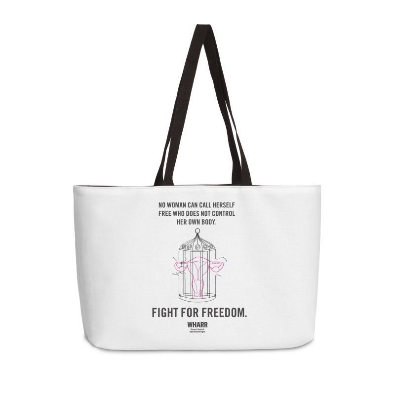 FREEDOM Accessories Weekender Bag Bag by Get Organized BK's Artist Shop
