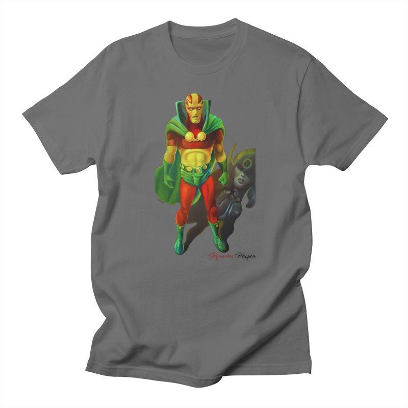 Miracles Happen Men's T-Shirt by Geza Brunow