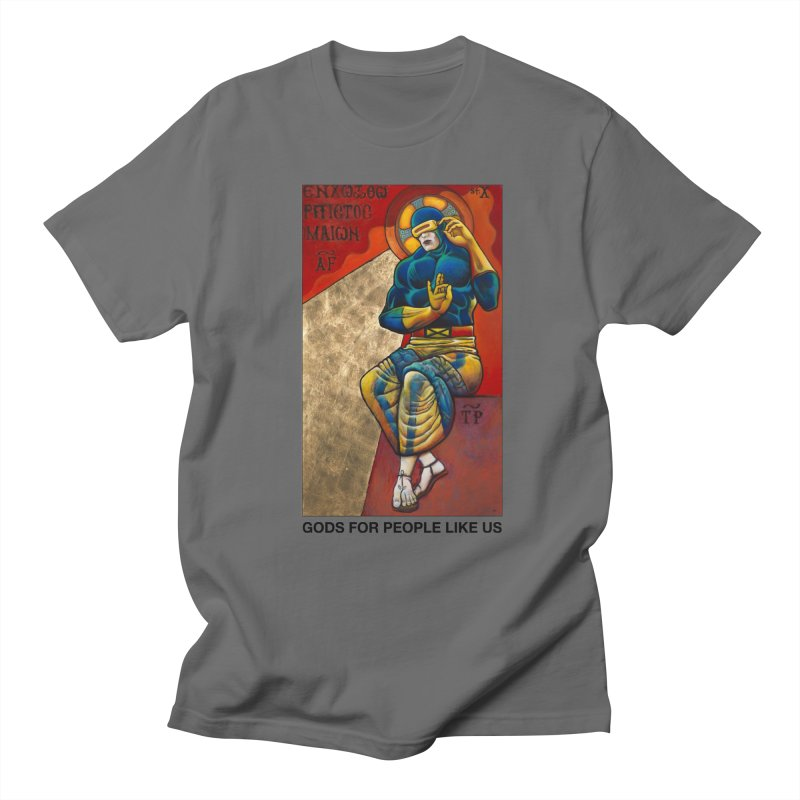 Gods For People Like Us Men's T-Shirt by Geza Brunow