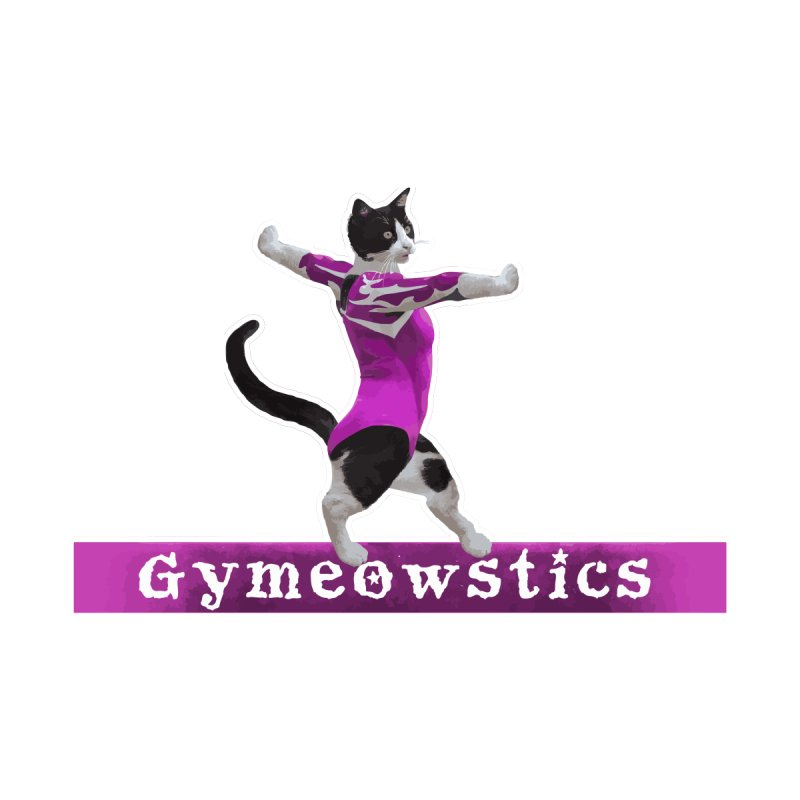 Gymeowstics Women's T-Shirt by Games for Glori Shop