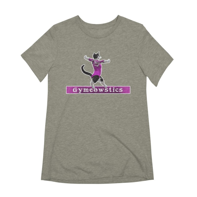 Gymeowstics Women's Extra Soft T-Shirt by Games for Glori Shop