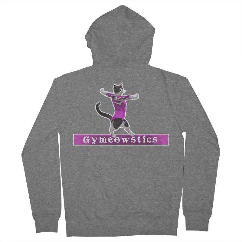 Gymeowstics Women's Zip-Up Hoody by Games for Glori Shop