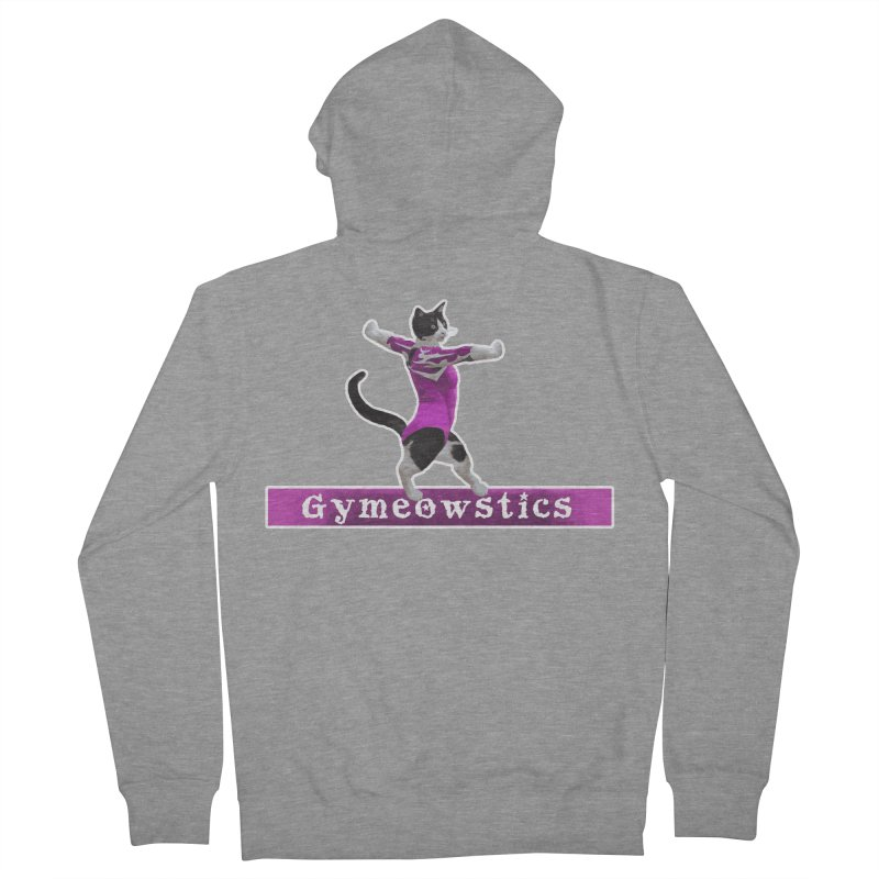 Gymeowstics Women's French Terry Zip-Up Hoody by Games for Glori Shop