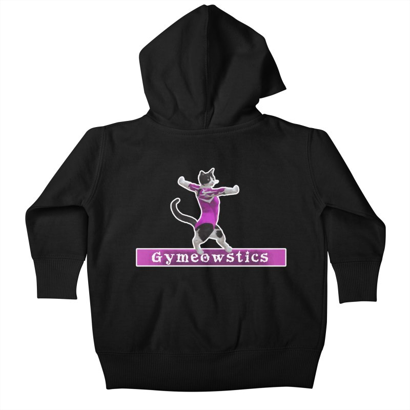 Gymeowstics Kids Baby Zip-Up Hoody by Games for Glori Shop