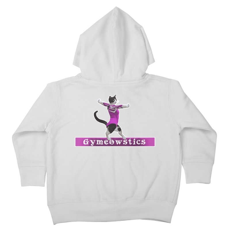 Gymeowstics Kids Toddler Zip-Up Hoody by Games for Glori Shop