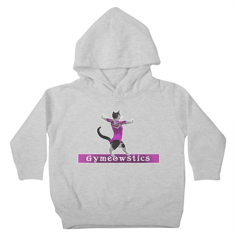 Gymeowstics Kids Toddler Pullover Hoody by Games for Glori Shop