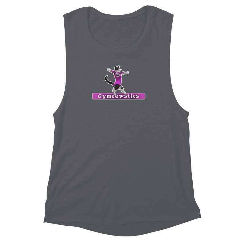 Gymeowstics Women's Muscle Tank by Games for Glori Shop