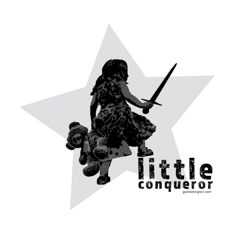 Little Conqueror Kids Baby T-Shirt by Games for Glori Shop