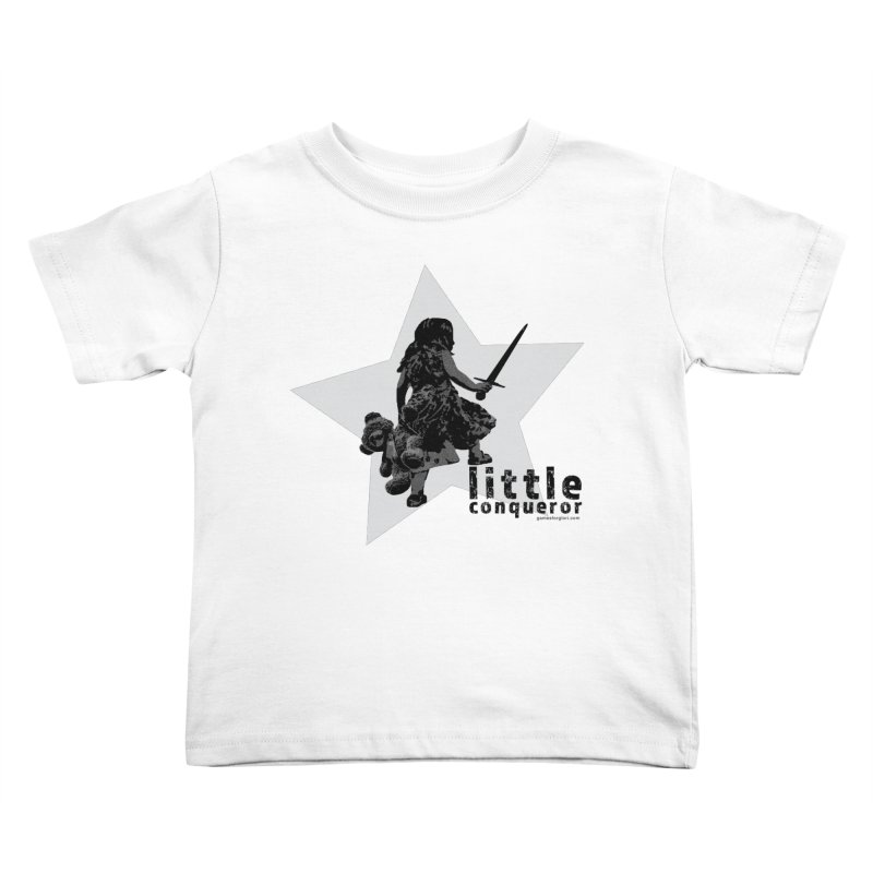 Little Conqueror Kids Toddler T-Shirt by Games for Glori Shop
