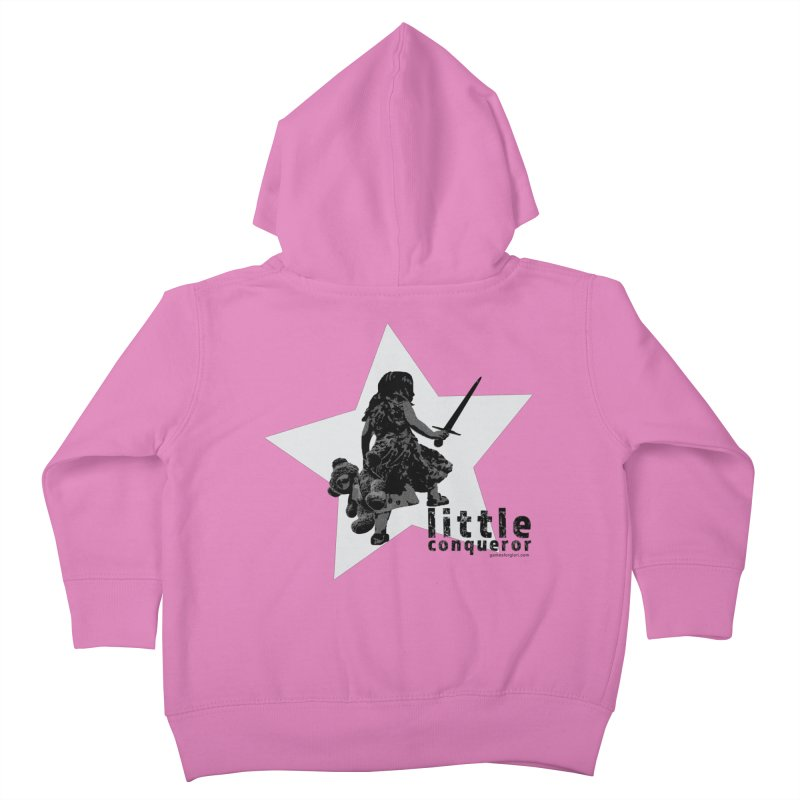 Little Conqueror Kids Toddler Zip-Up Hoody by Games for Glori Shop