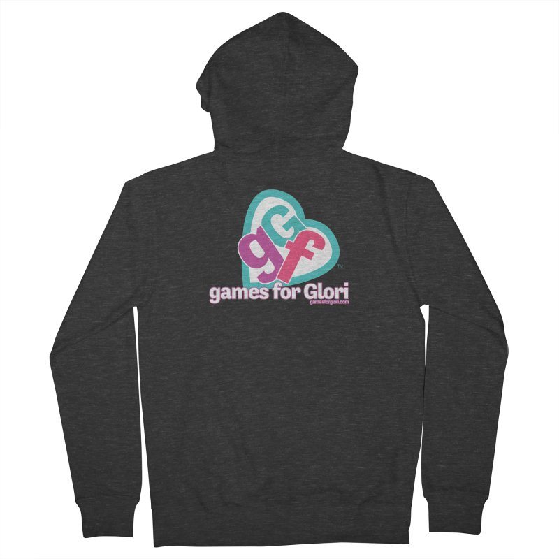 Games for Glori Women's French Terry Zip-Up Hoody by Games for Glori Shop