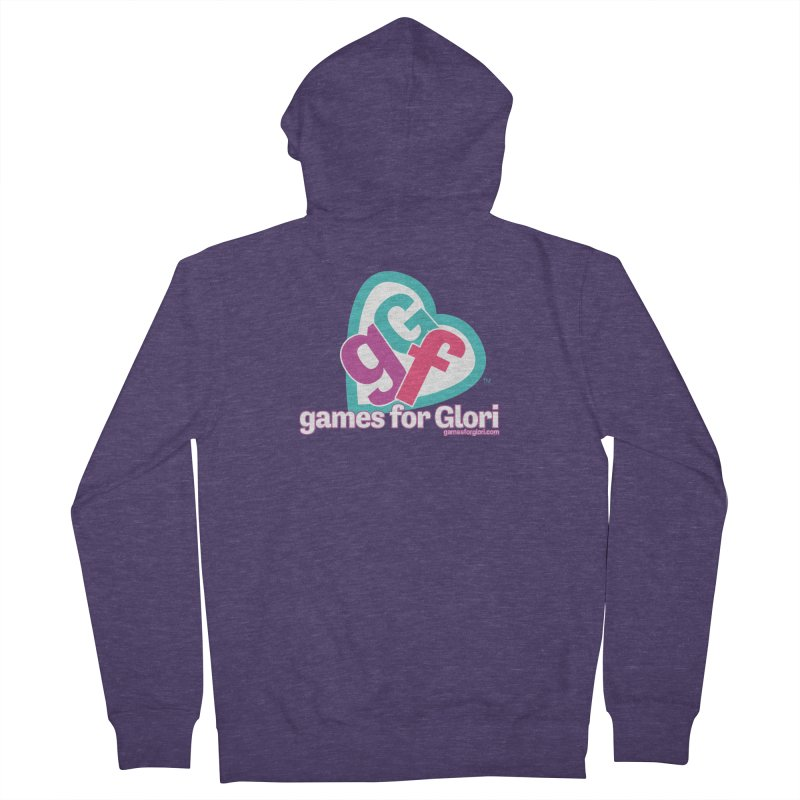 Games for Glori Men's French Terry Zip-Up Hoody by Games for Glori Shop
