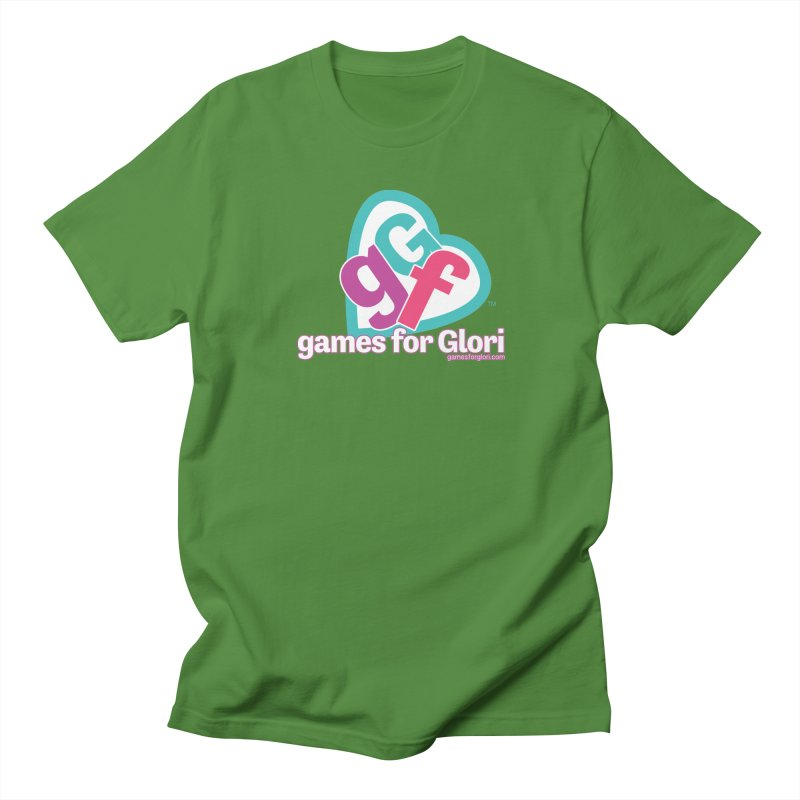 Games for Glori Women's Regular Unisex T-Shirt by Games for Glori Shop
