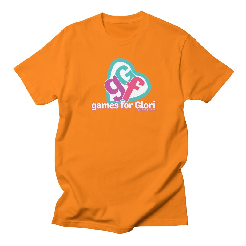 Games for Glori Men's Regular T-Shirt by Games for Glori Shop