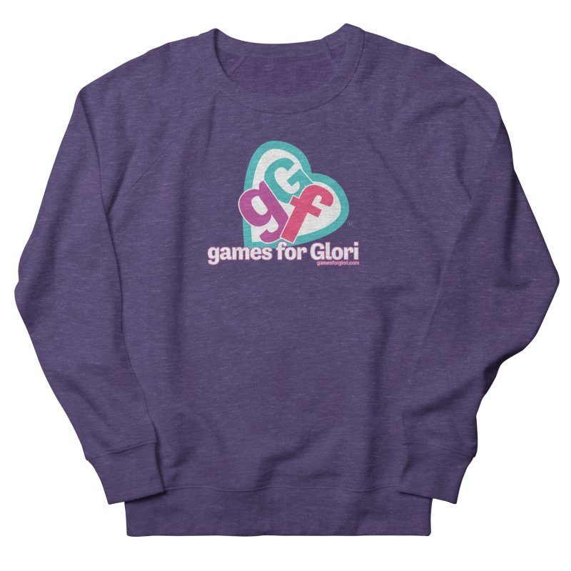 Games for Glori Men's French Terry Sweatshirt by Games for Glori Shop