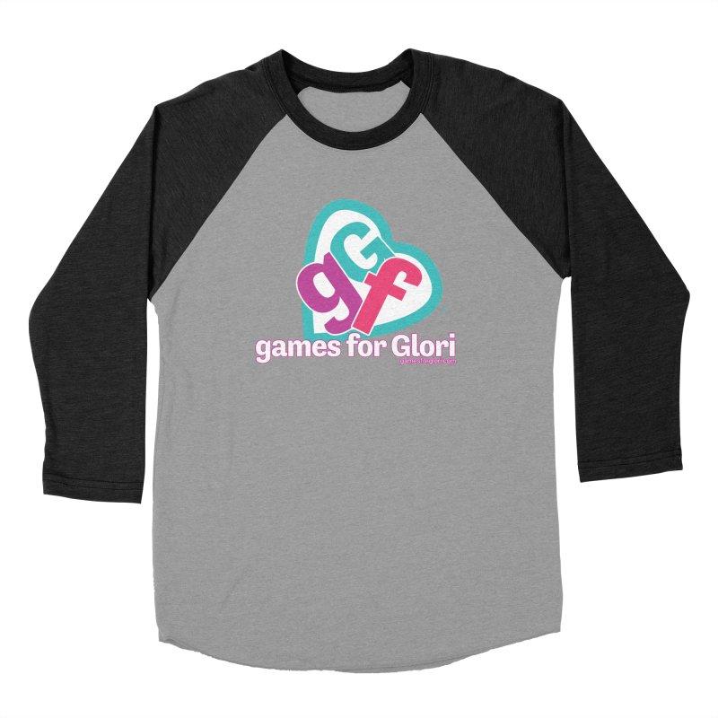 Games for Glori Women's Baseball Triblend Longsleeve T-Shirt by Games for Glori Shop
