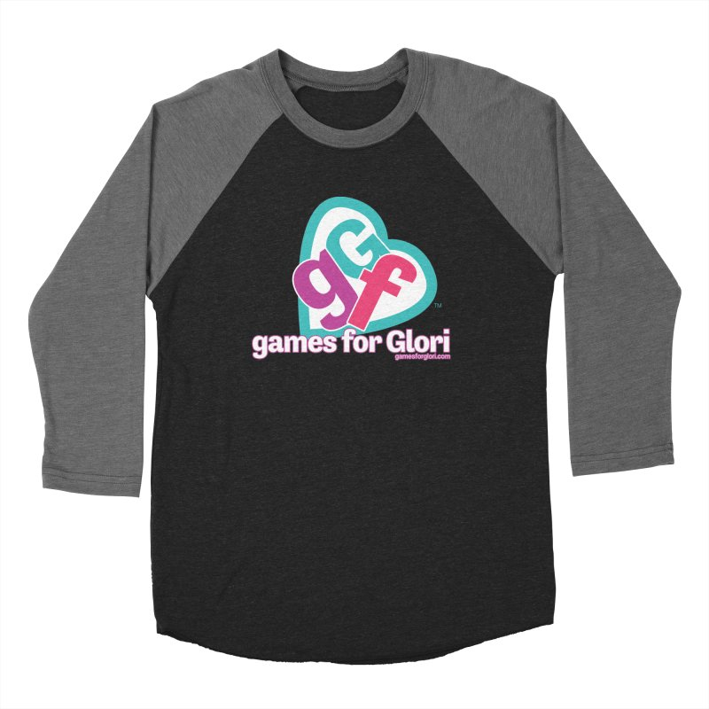 Games for Glori Men's Baseball Triblend Longsleeve T-Shirt by Games for Glori Shop