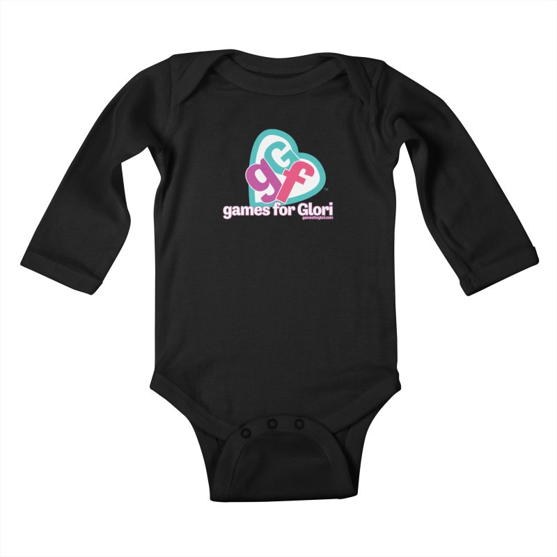 Games for Glori Kids Baby Longsleeve Bodysuit by Games for Glori Shop