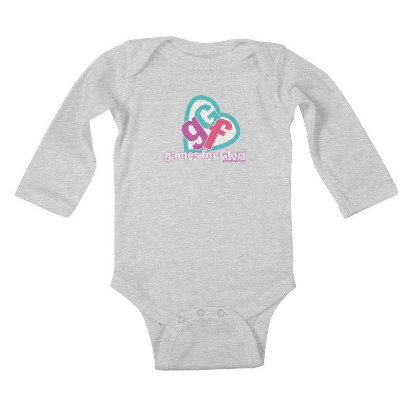 Games for Glori Kids Baby Longsleeve Bodysuit by Games for Glori Shop