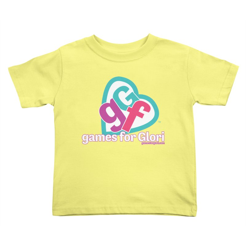Games for Glori Kids Toddler T-Shirt by Games for Glori Shop