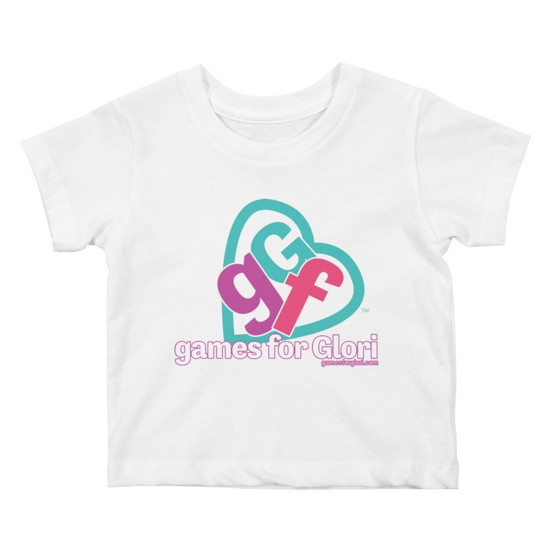Games for Glori Kids Baby T-Shirt by Games for Glori Shop