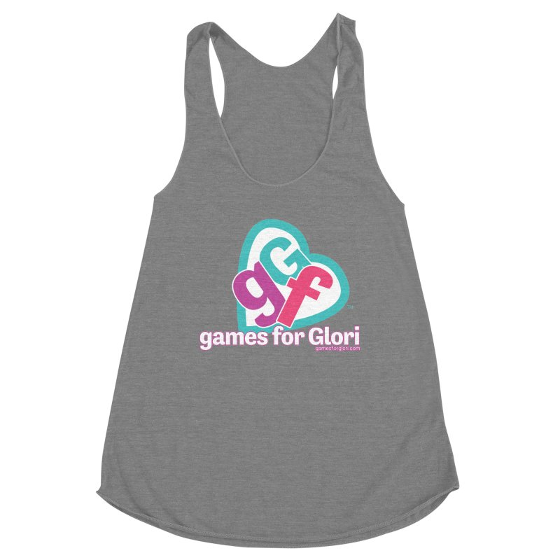 Games for Glori Women's Racerback Triblend Tank by Games for Glori Shop