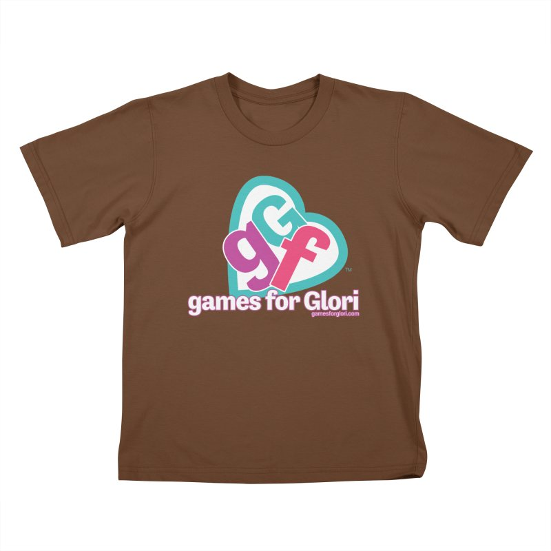 Games for Glori Kids T-Shirt by Games for Glori Shop