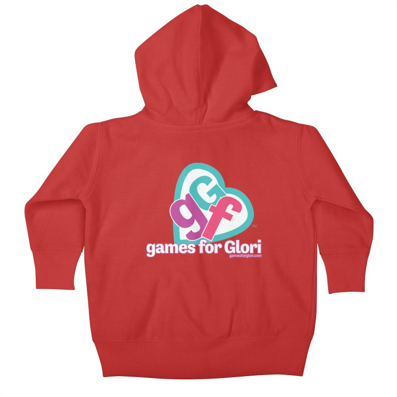 Games for Glori Kids Baby Zip-Up Hoody by Games for Glori Shop