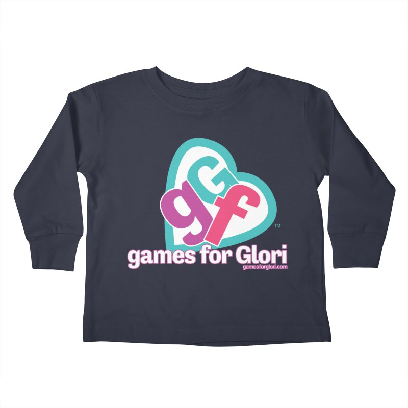 Games for Glori Kids Toddler Longsleeve T-Shirt by Games for Glori Shop