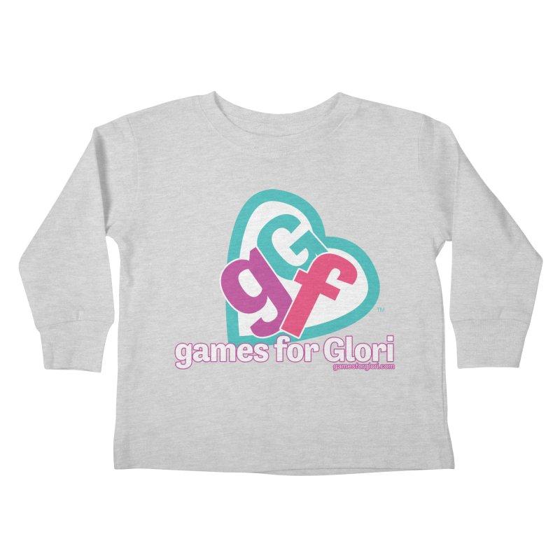 Games for Glori Kids Toddler Longsleeve T-Shirt by Games for Glori Shop