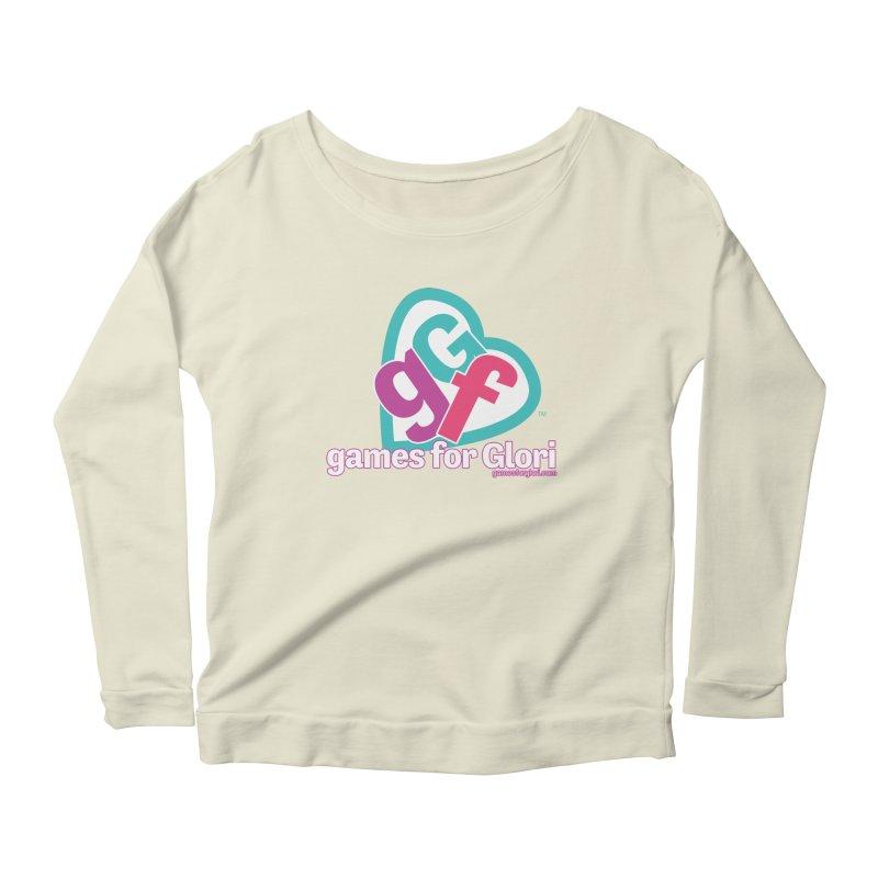 Games for Glori Women's Scoop Neck Longsleeve T-Shirt by Games for Glori Shop